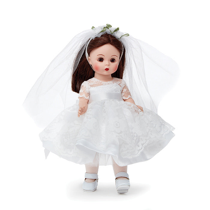 "Madame Alexander 8"" First Communion Blessings Brunette - 75097"