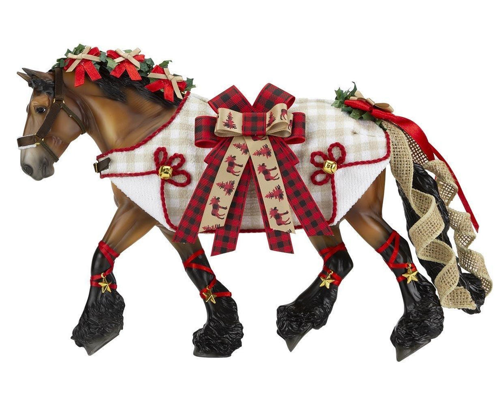 Yuletide Greetings Model Horse