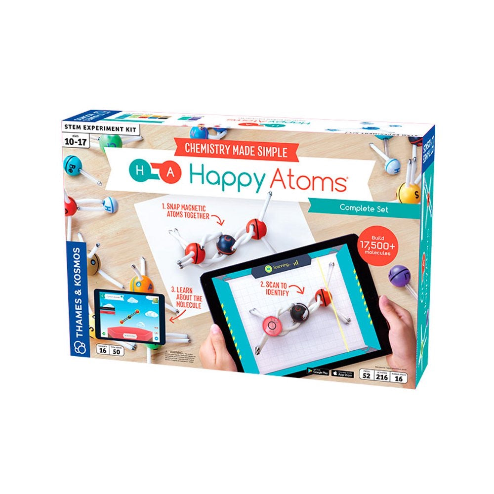 T&K Happy Atoms Complete Set - 52pcs