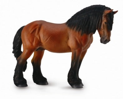 CollectA Ardennes Stallion