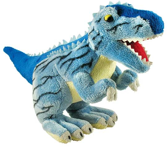 Blue T-Rex Plush
