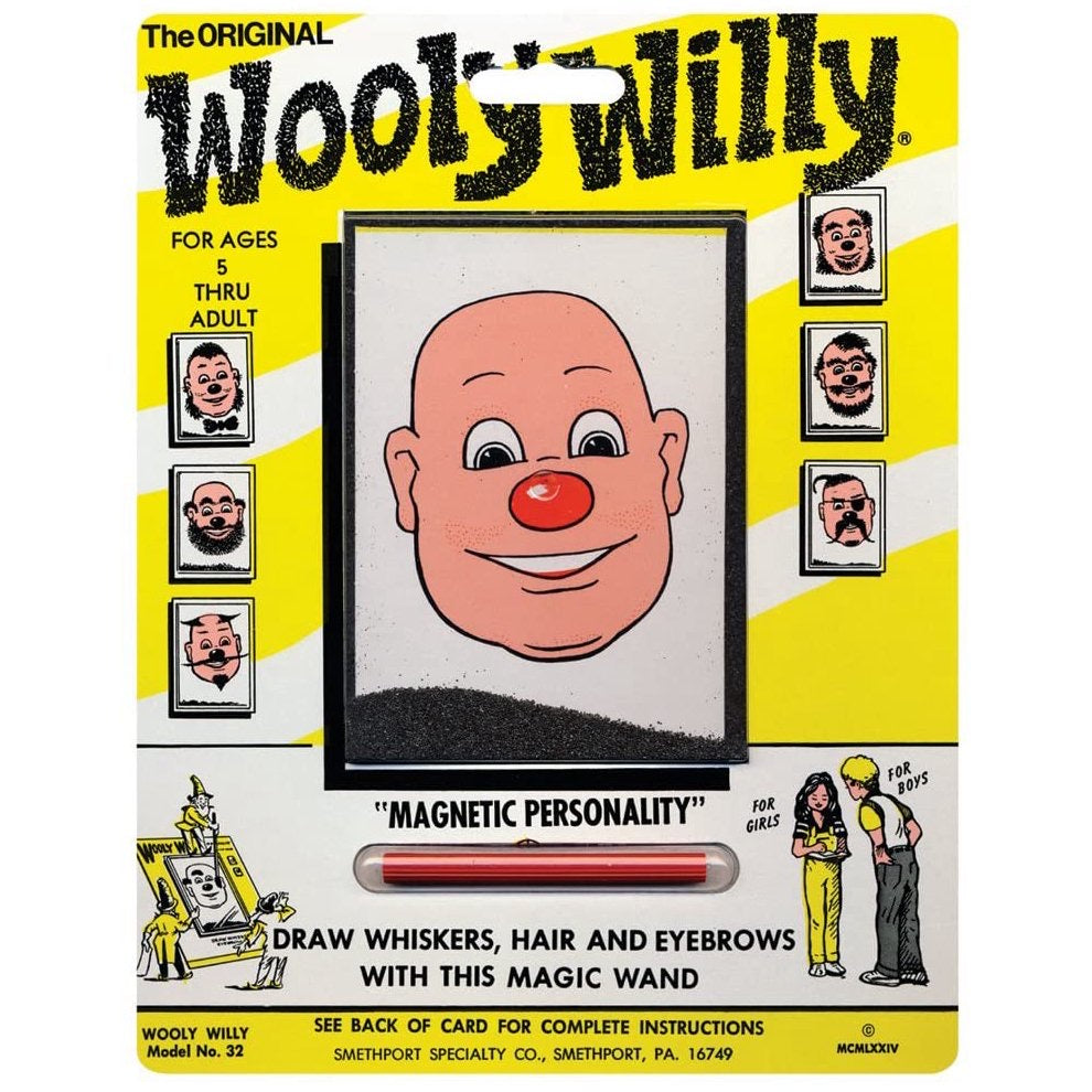 Wooly Willy Play Monster