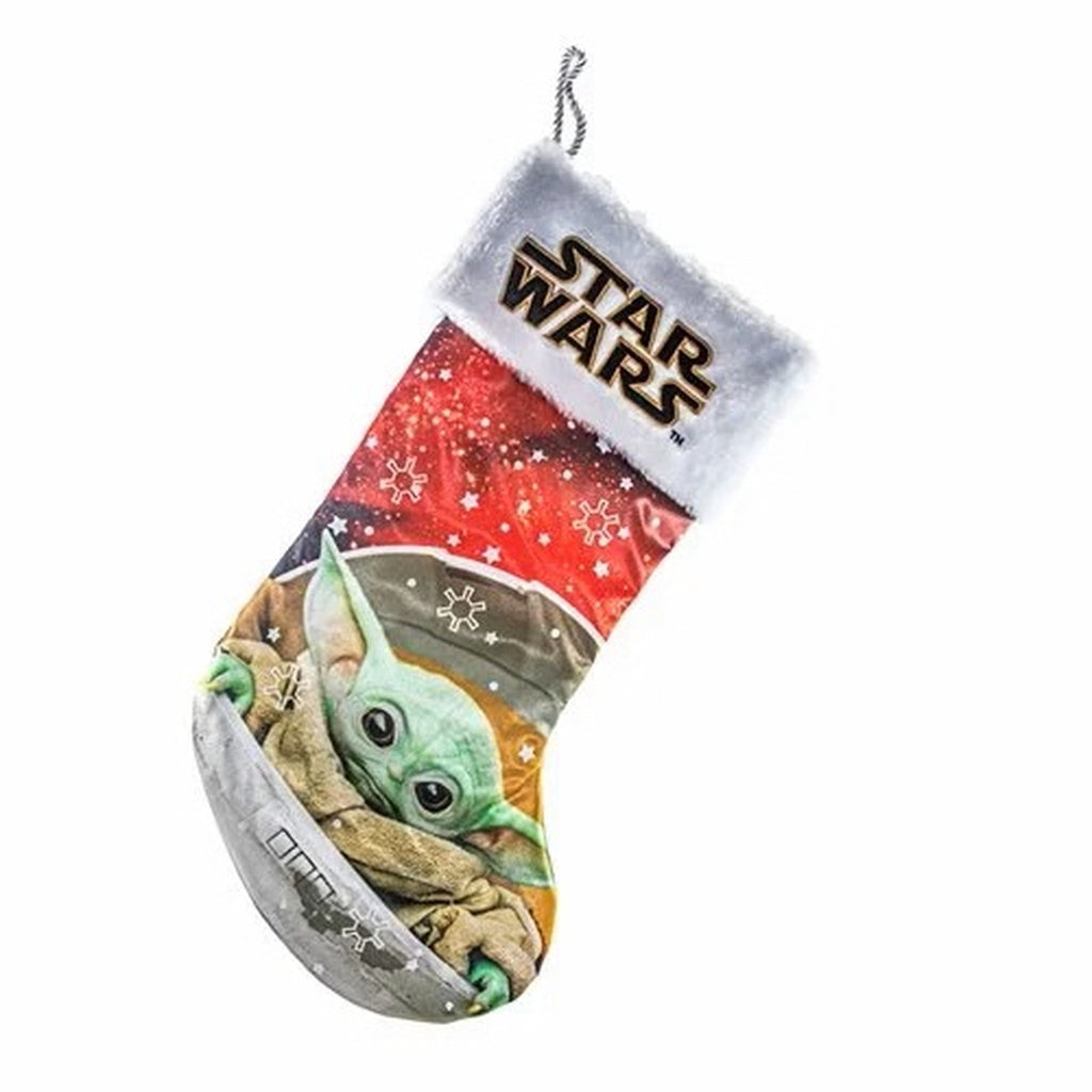 Kurt Adler Baby Yoda Stocking
