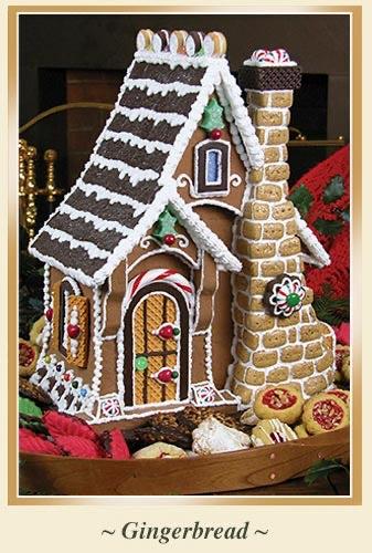 Sugar Cookie Cottage Gingerbread House