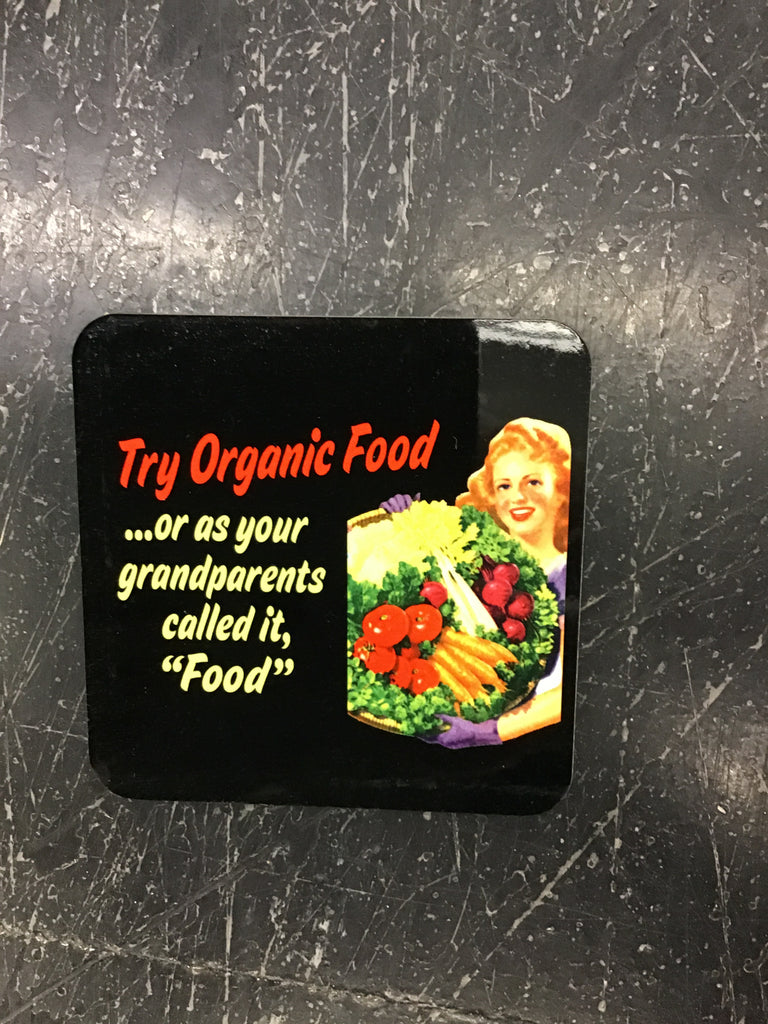 Jim Spinx Organic Food Coaster