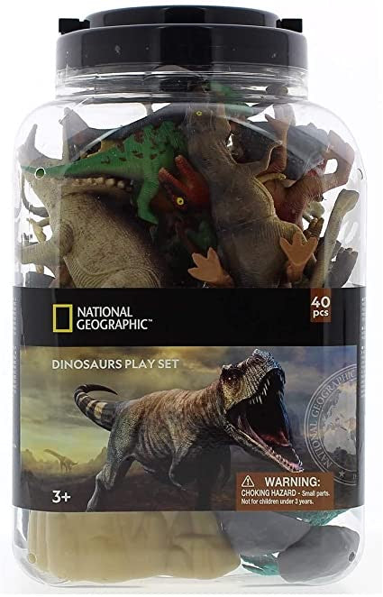 National Geographic 40 Piece Dinosaurs Play Set