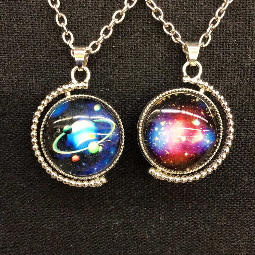 Glow In The Dark Planet Necklace