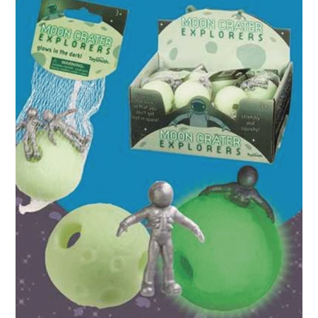 Moon Crater Explorers- Glow-in-the-Dark