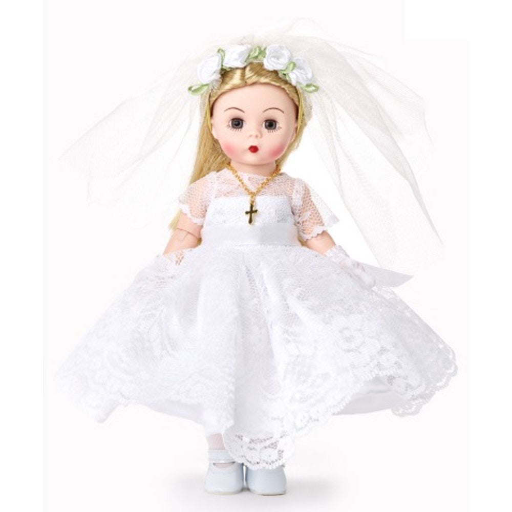 "Madame Alexander 8"" First Communion Blessings Blonde- 75090"
