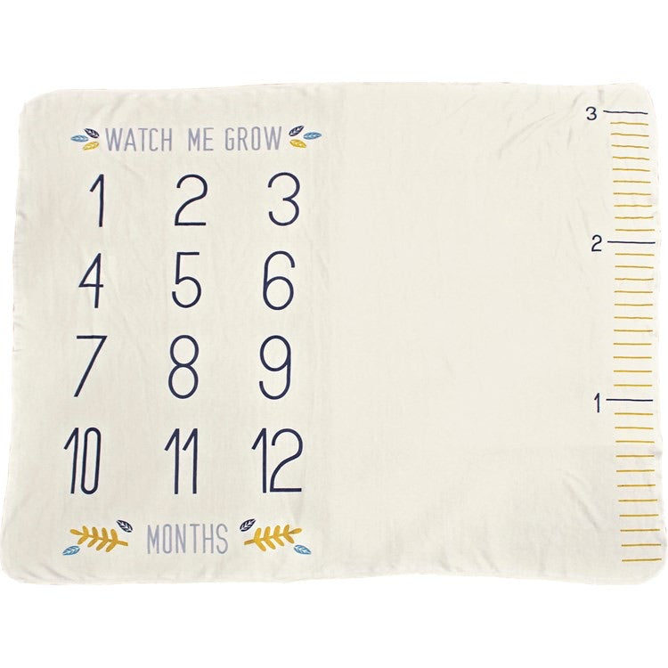 Milestone Grow Blanket