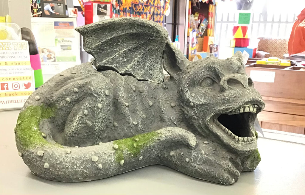 Lighted Smoking LED Gargoyle