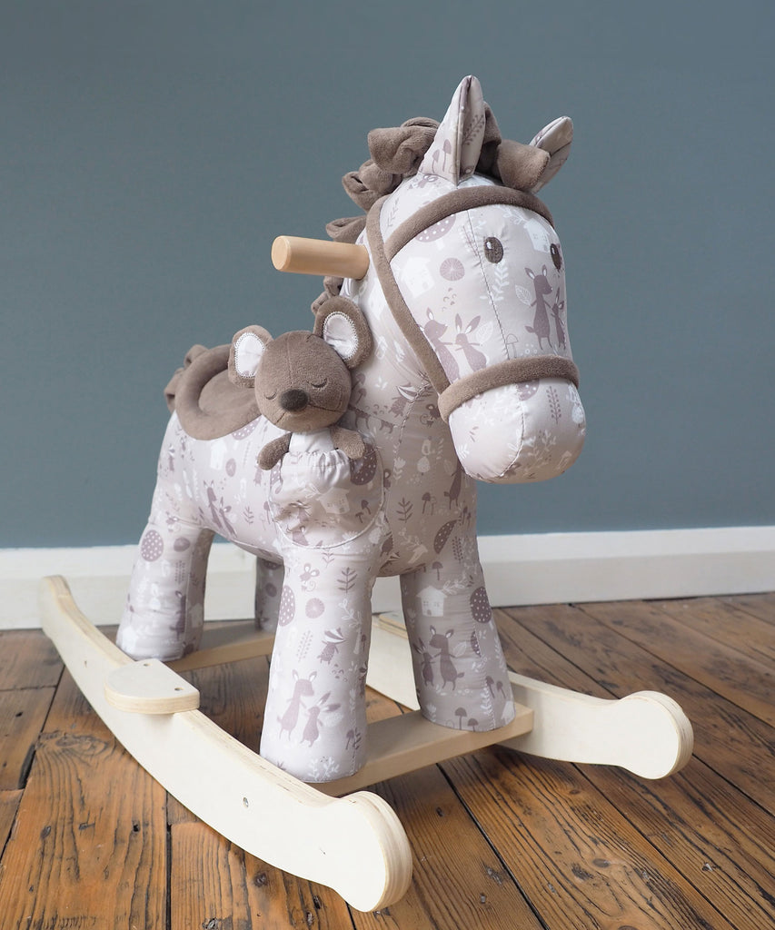 Biscuit and Skip Rocking Horse