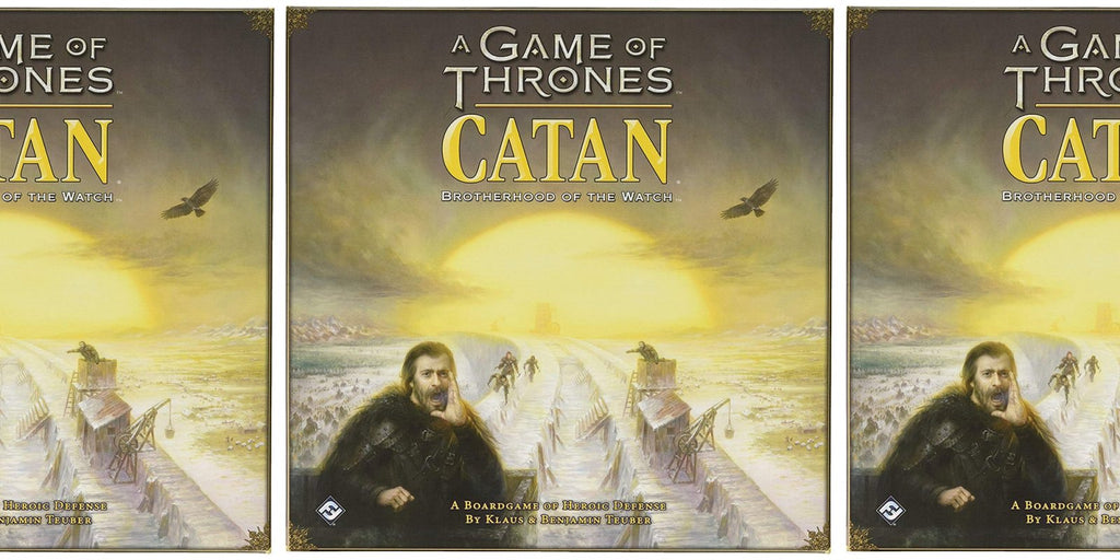 Game of Throne Catan: Brotherhood of the Watch Boardgame