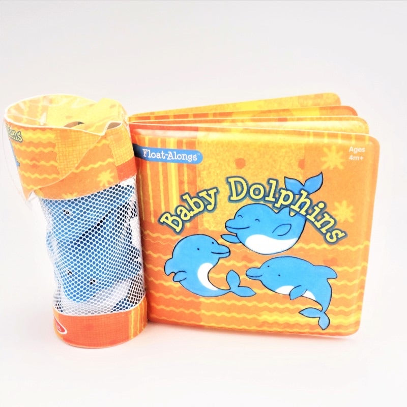 Baby Dolphins Bath Book
