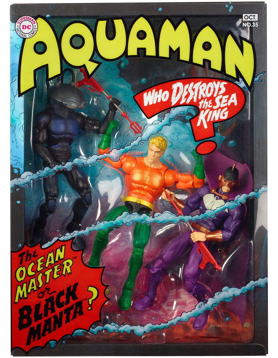 Aquaman Who Destroys the Sea King? Multiverse