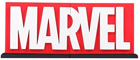 Marvel Logo BookEnd Collectible