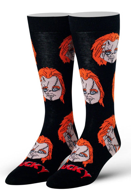 Chucky Heads Socks