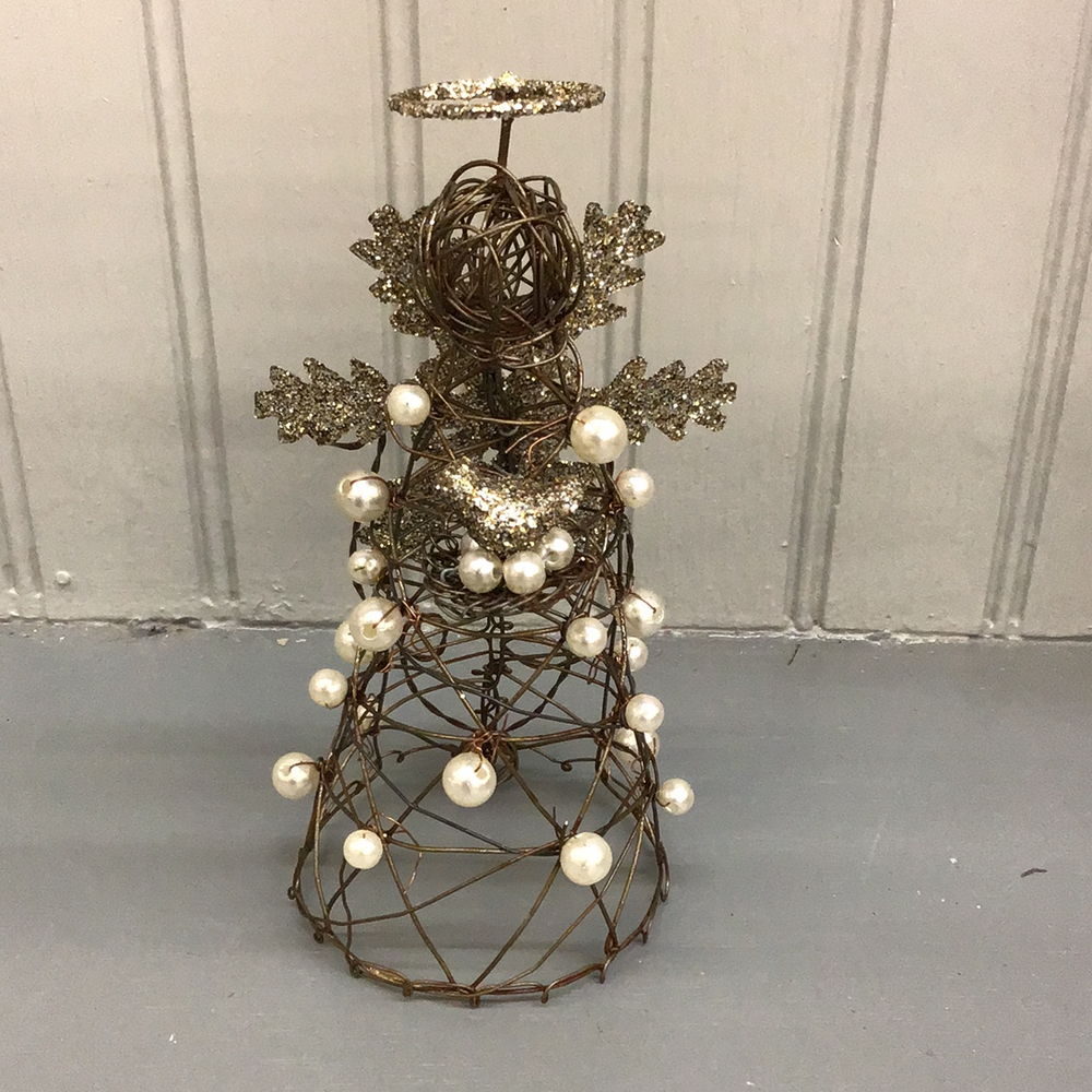 Wire Christmas Angel