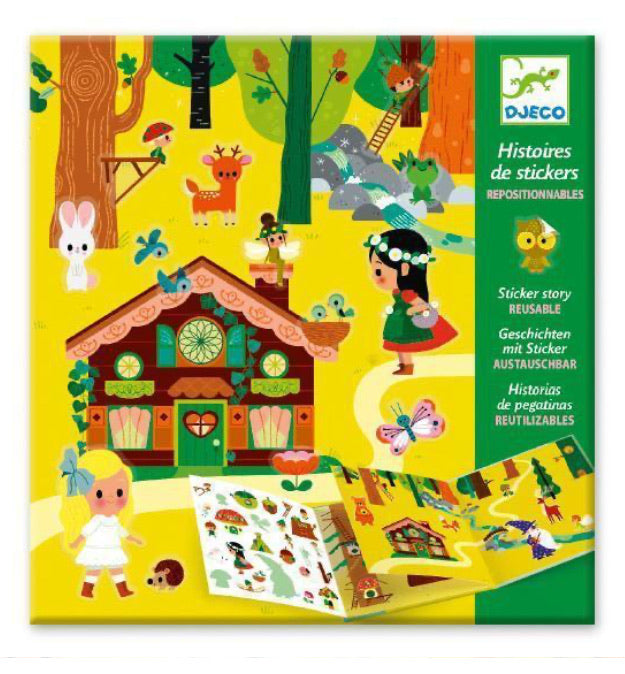 Magical Forest Reusable Sticker Story Set