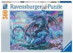 Mystic Dragons 500 Piece Puzzle