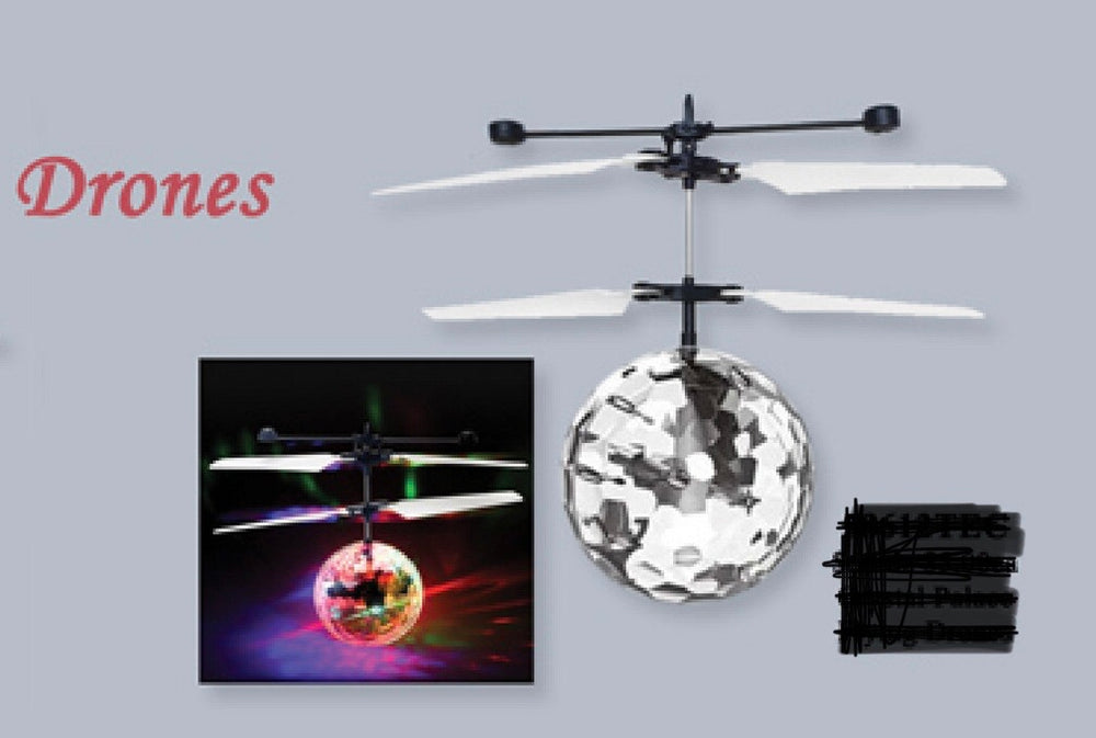 Induction Flying Ball Drone