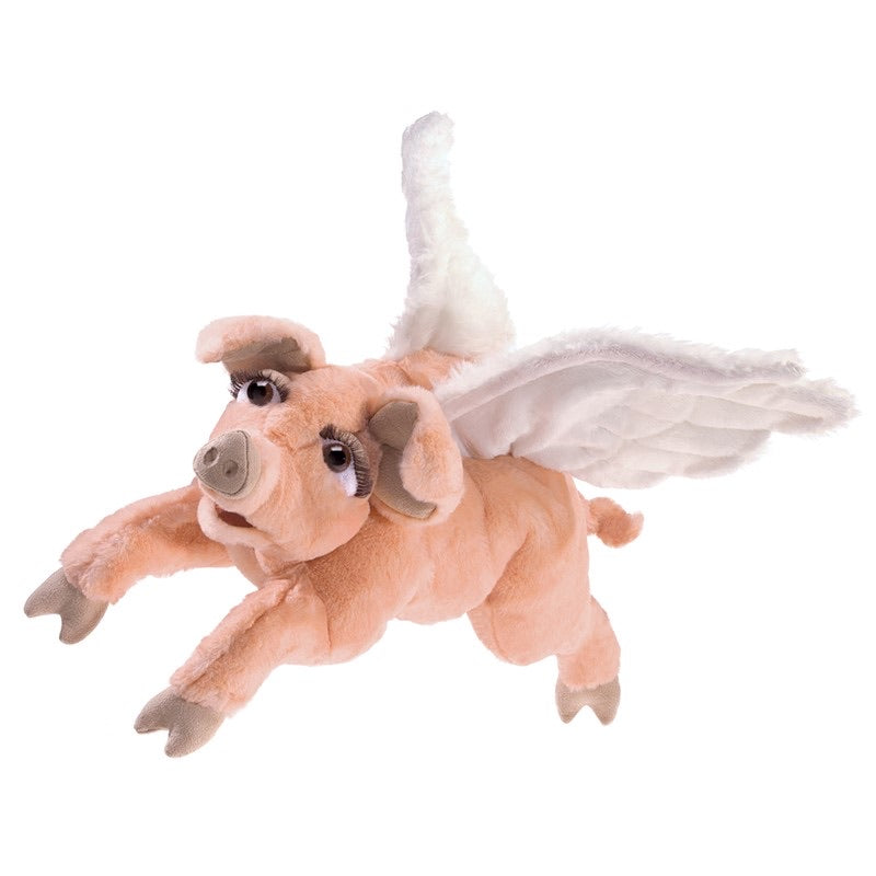 Folkmanis Flying Pig Puppet