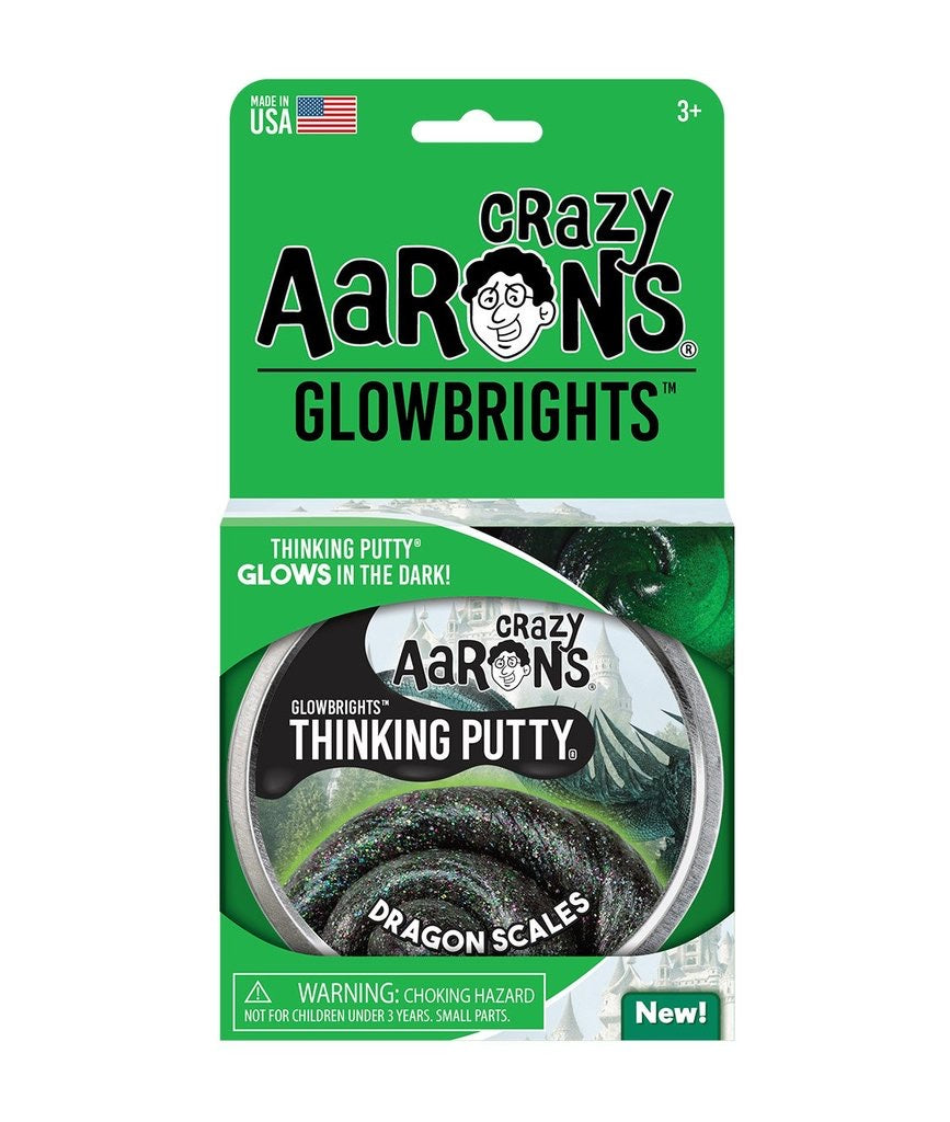 Glowbrights Thinking Putty in Dragon Scales