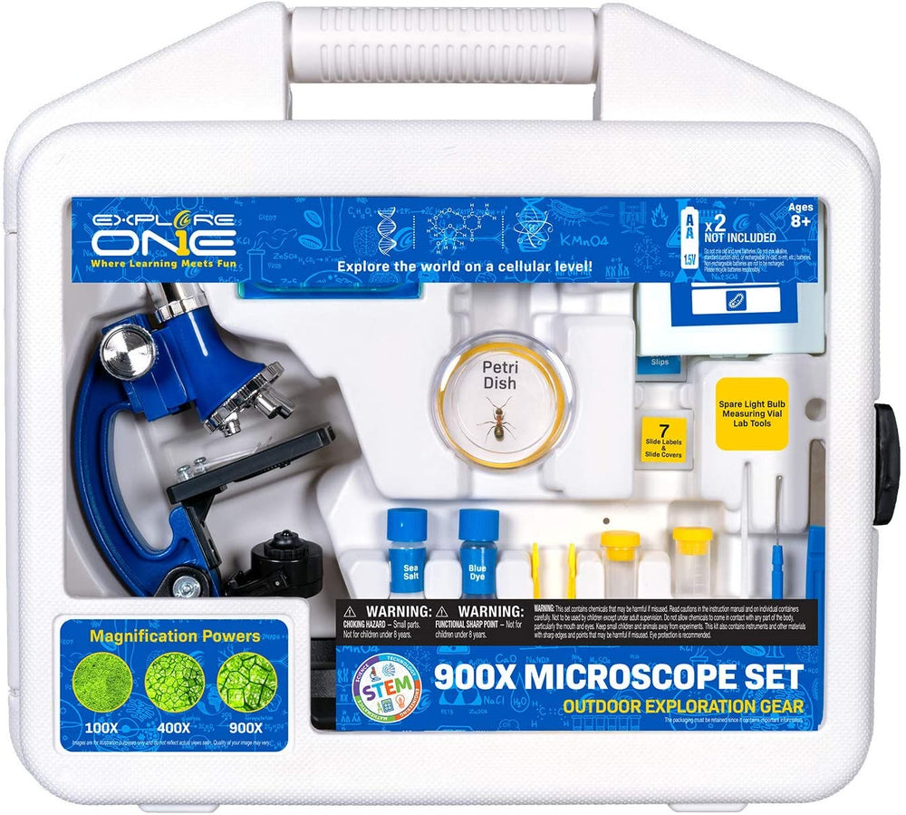 Explore One 900X Microscope Set