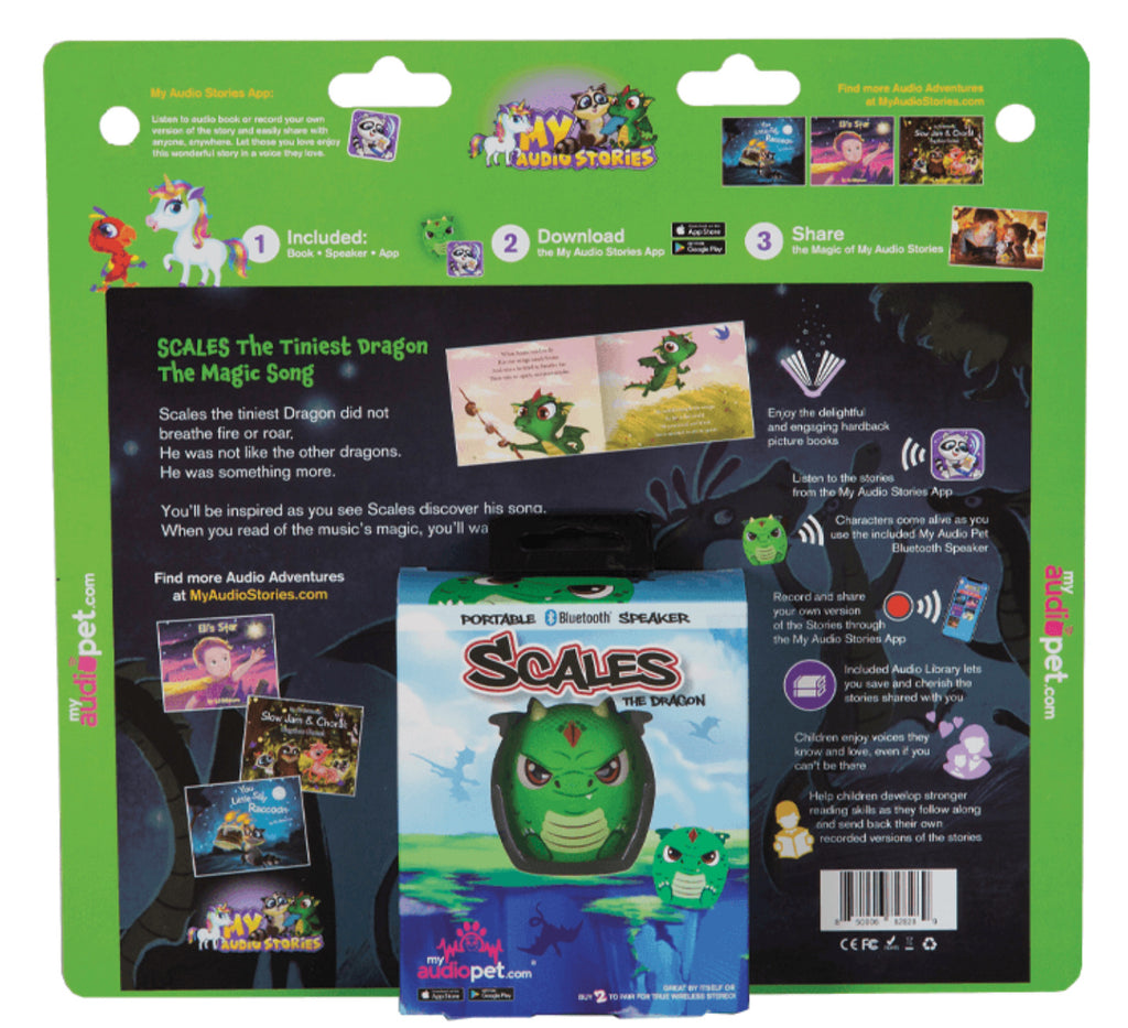 Scales the Tiniest Dragon: The Magic Song Kit