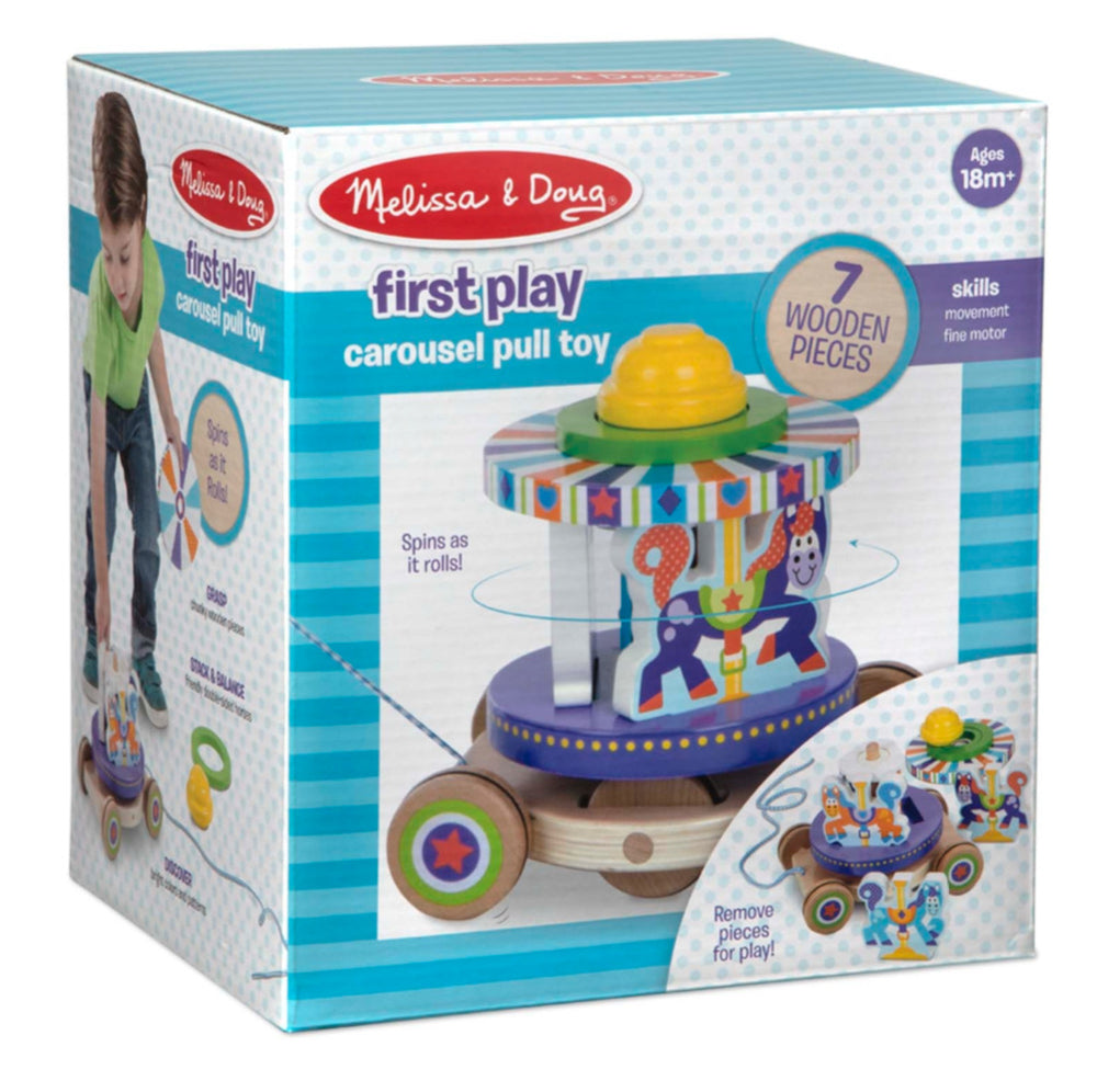 Carousel Pull Toy First Play