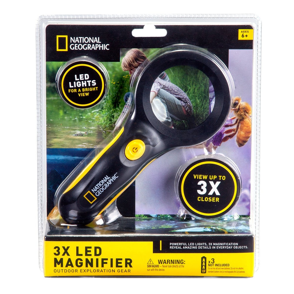National Geographic 3x LED Magnifier