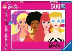 Barbie's 60th Anniversary 500 Piece Puzzle