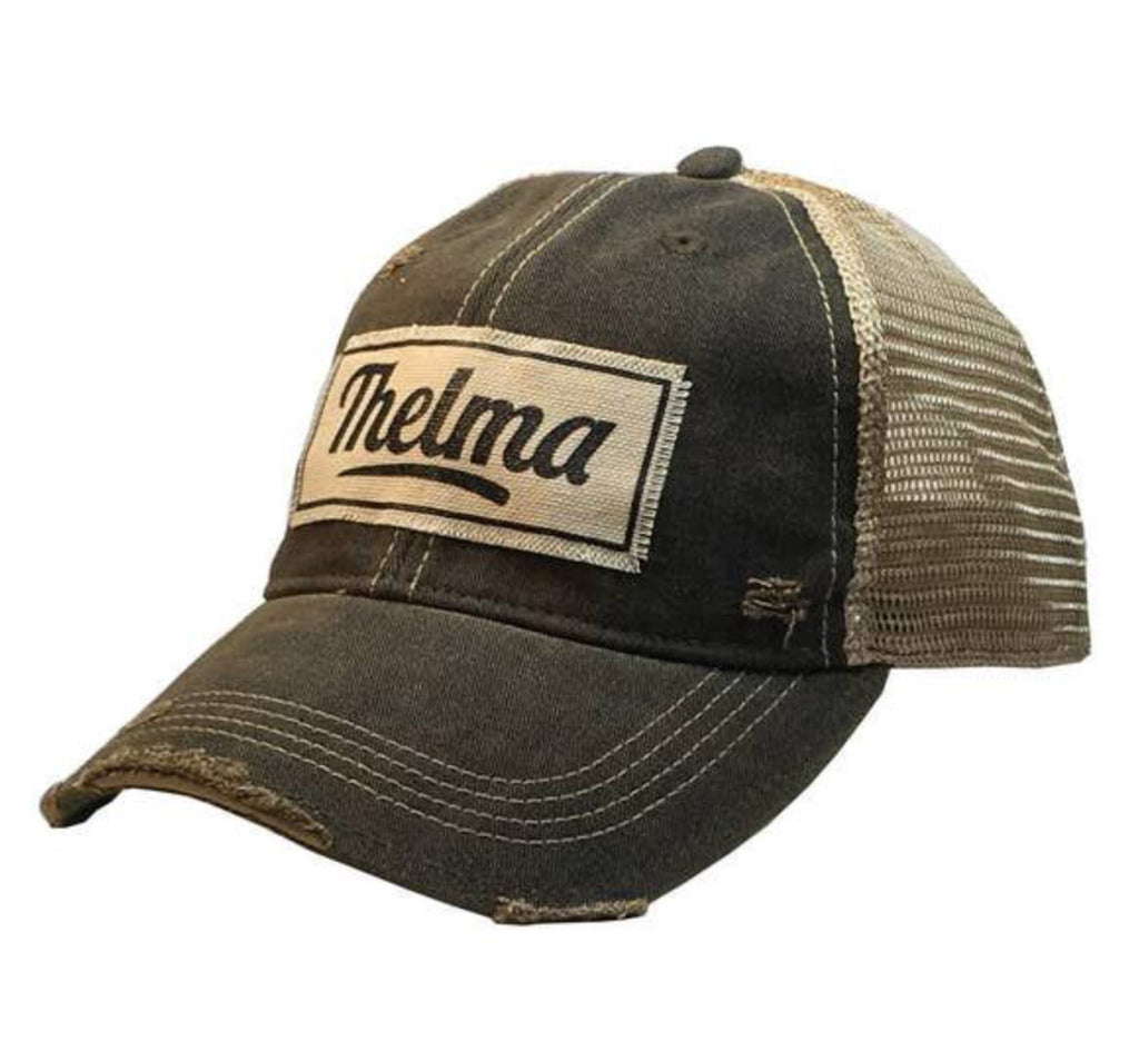 Thelma Patch Trucker Cap