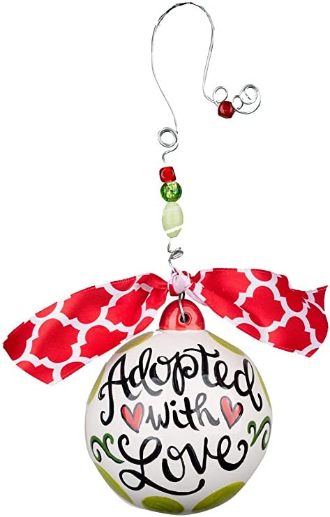 Adopted with Love Ornament