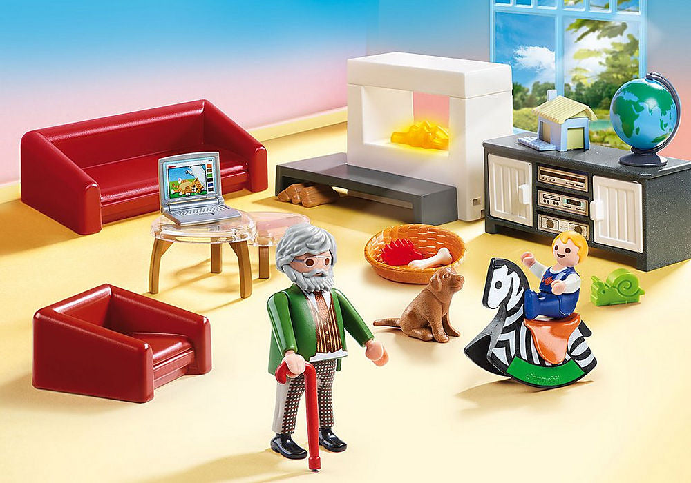 Playmobil Dollhouse 70207 Living Room
