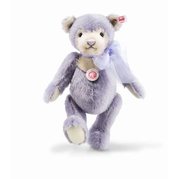 Steiff Laurin Lilac Limited Edition Mohair Teddy Bear EAN 006487