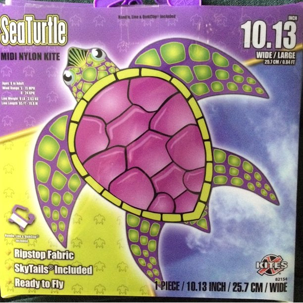 SeaTurtle Midi Nylon Kite