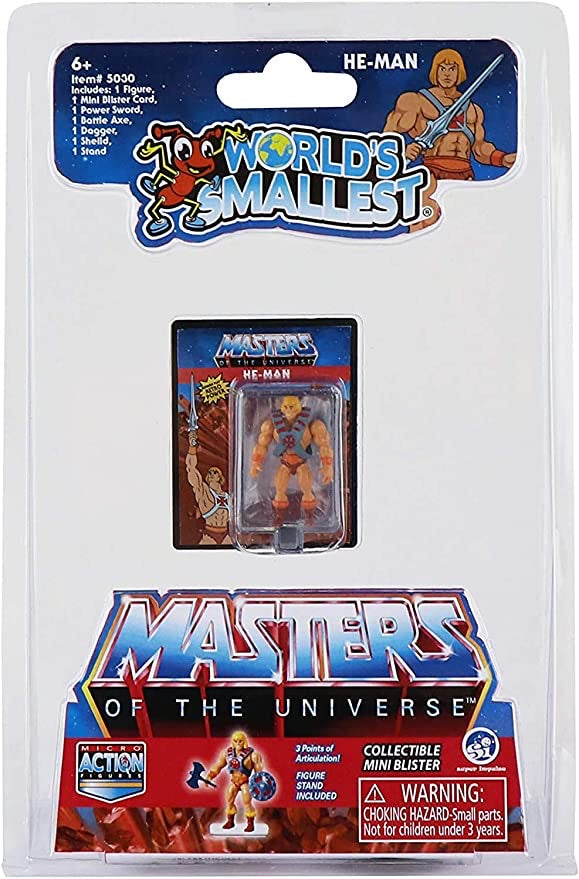 World's Smallest Masters of The Universe