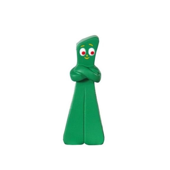 Folding Arms Gumby - Slow Rising Foam Toy