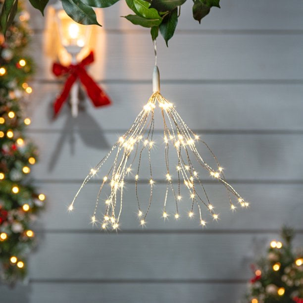 Electric Wire Starburst Ornament