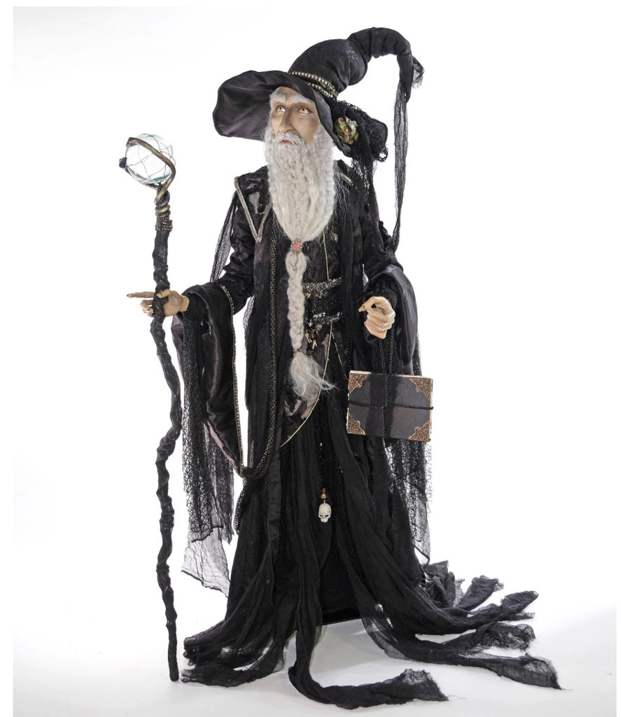 Katherine's Collection Krooked Life Size Wizard