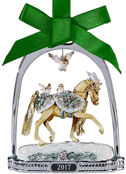 Breyer Winter Wonderland Stirrup Ornament - Retired