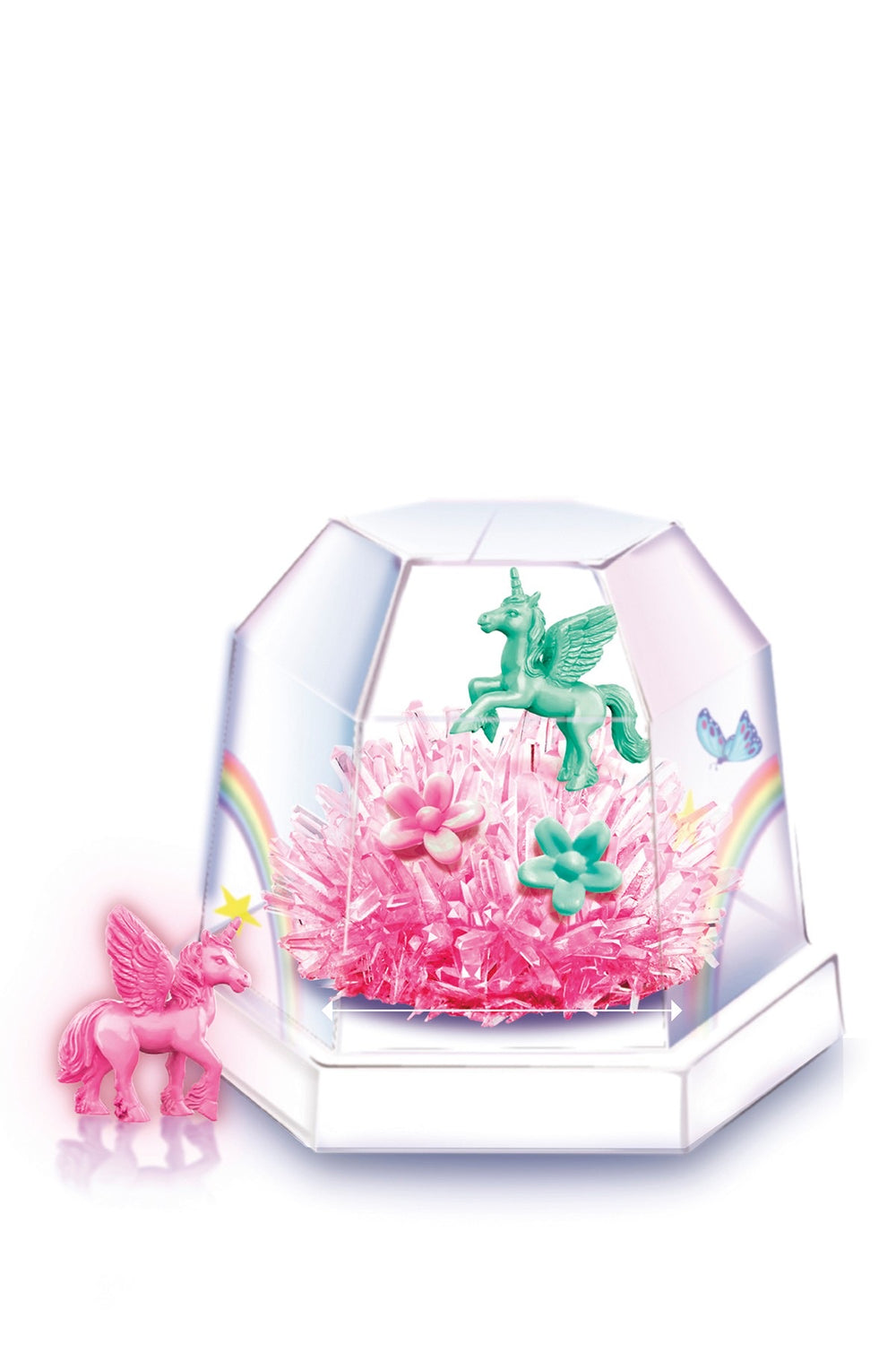 Unicorn Crystal Terrarium