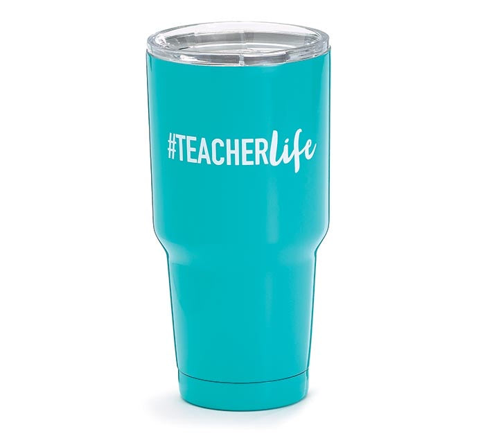 #TEACHERLIFE STAINLESS STEEL TUMBLER
