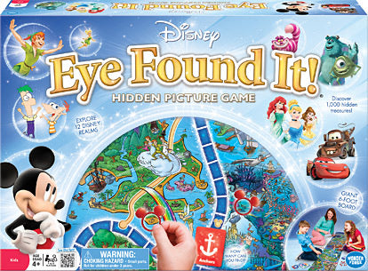 Disney Eye Found It! Boardgame