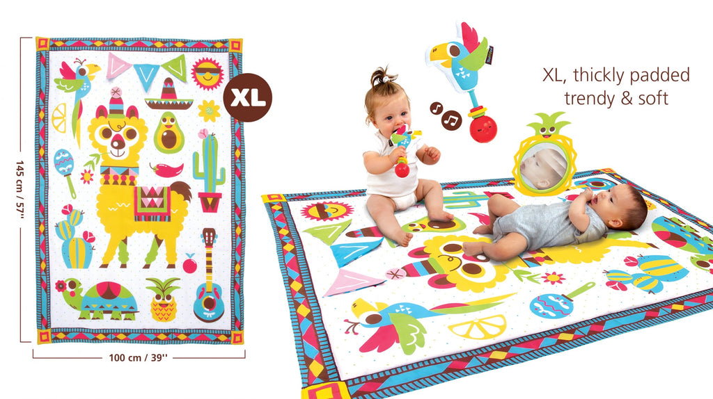 Fiesta Playmat to Bag