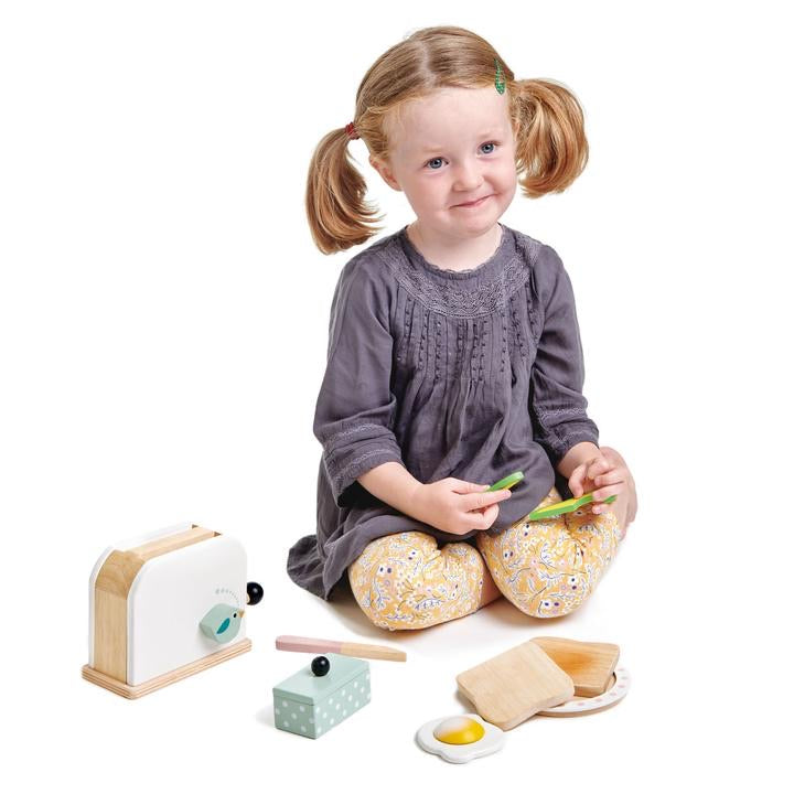 Mini Chef Breakfast Toaster Set