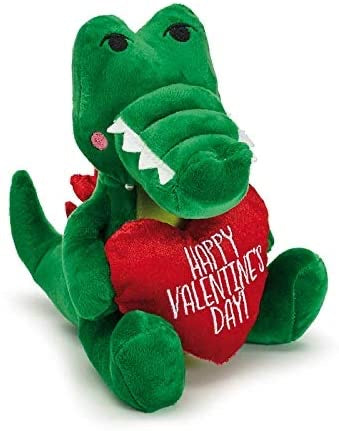 Valentines Day Gator Plush