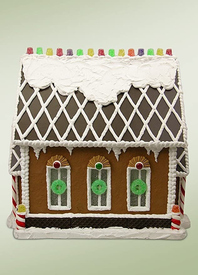 Gumdrop Gables Gingerbread House