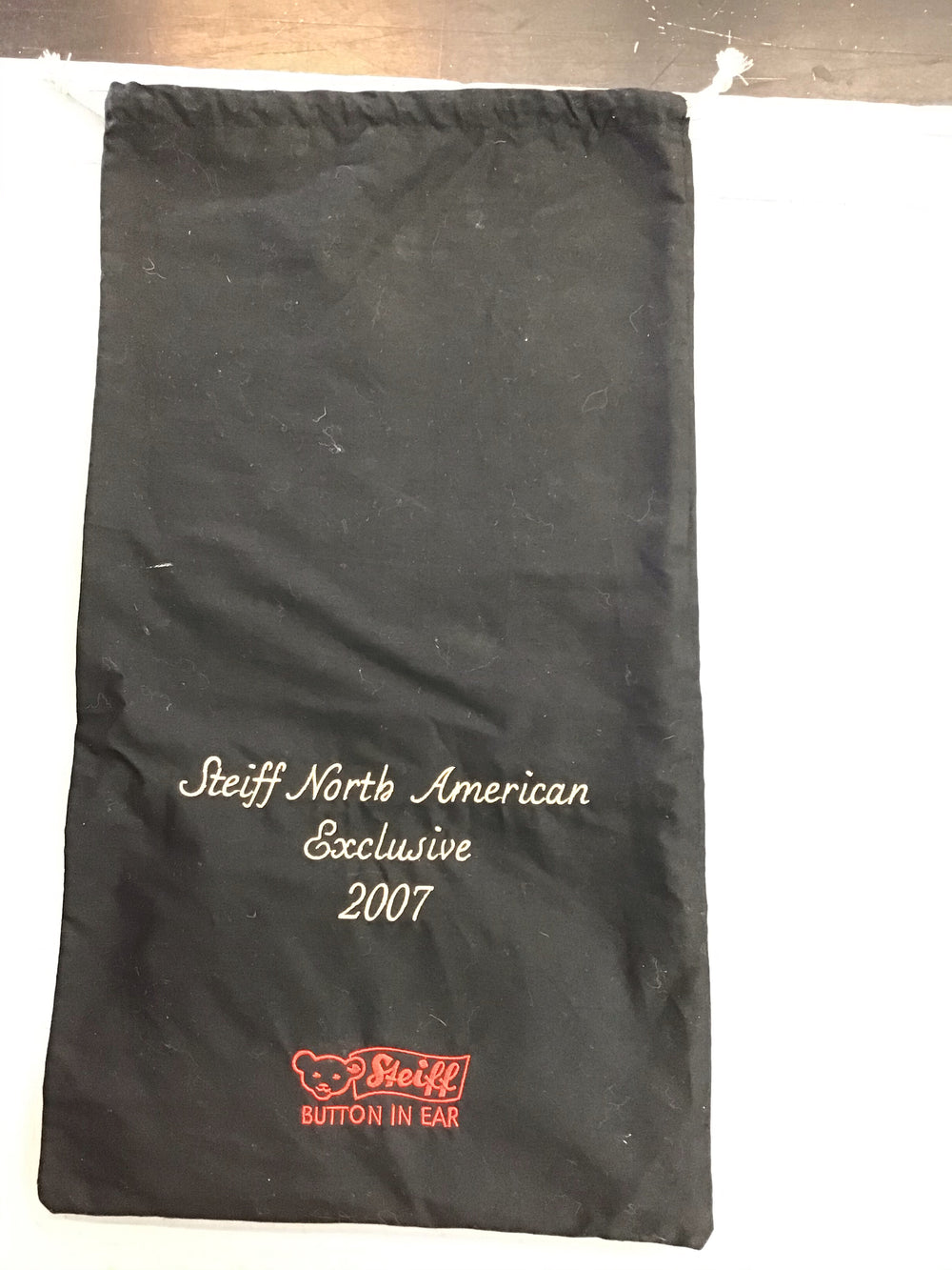 Steiff North American Exclusive 2007 BAG ONLY